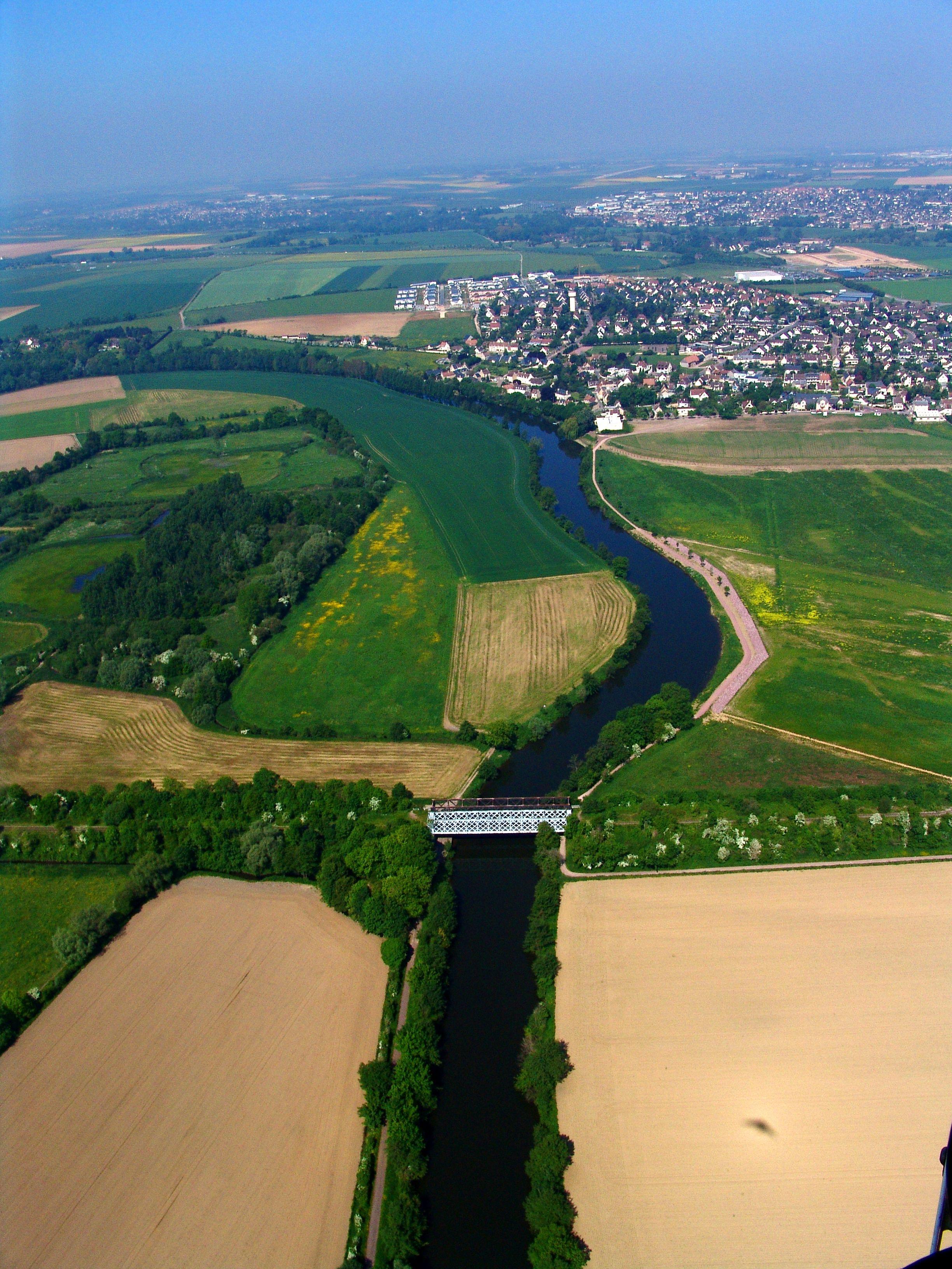 Paysage du fleuve l'Orne