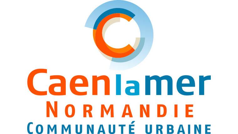 Logo Caen la Mer Normandie Communauté Urbaine