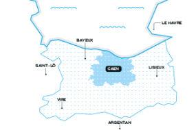 Eau du bassin caennais - Carte du mega menu