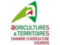 Logo de la chambre d'agriculture du Calvados