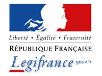 Logo Legifrance